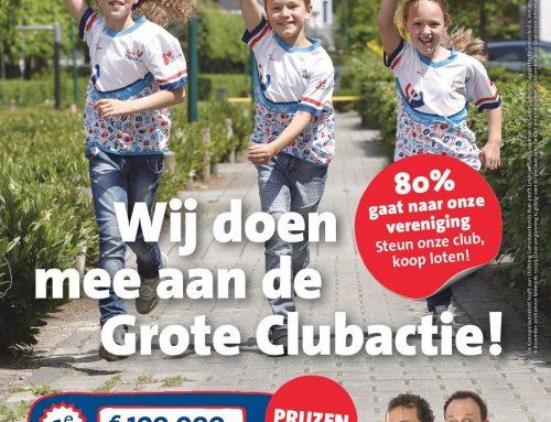 Grote clubactie bijna van start.