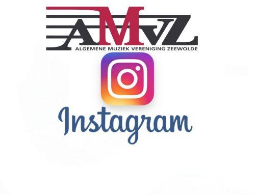 AMVZ nu ook op instagram.